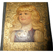 Antique Scrapbook circa 1890