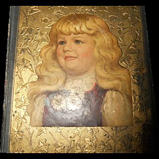 Antique Scrapbook circa 1890