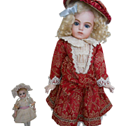 Vintage LE Doll Dress and Hat