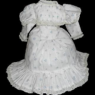 Jumeau-Style Doll Dress
