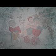 Antique Childrens Lithograph Box