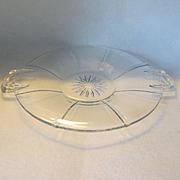 Heisey Tudor Cheese Plate