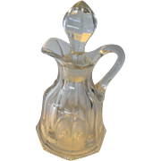 Heisey Peerless (Colonial) Ketchup Bottle and Stopper
