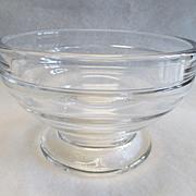 Heisey Saturn Mayonnaise Bowl