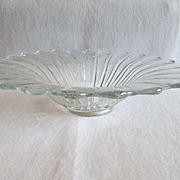 Heisey Crystolite Flared Bowl