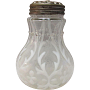 Northwood Spanish Lace Clear Opalescent Salt Shaker