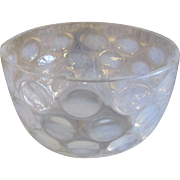 Opalescent Coin Spot/Dot Finger Bowl