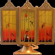 DeVilbiss Art Deco Perfume Lamp 1926 - Red Tag Sale Item