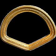 Ornate Gilt Fan Frame for Small or Miniature fan Eventail Ventaglio
