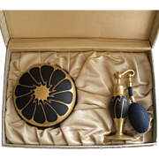 Vintage DeVilbiss Deluxe Vanity 1308  Set in Original box 1926