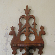 Pair of Victorian Style Whatnot Shelves