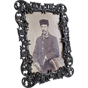 Victorian Standing Frame for Cabinet Card Photos