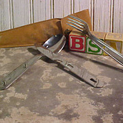 Vintage BSA Knife, Fork & Spoon Set