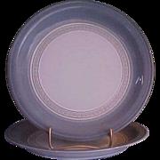 Denby Castile Salad Plates