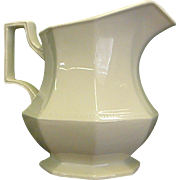 Johnson Brothers Heritage White Ironstone Pitcher