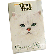 Wonderful Fancy Feast Cats of the World Playing Cards