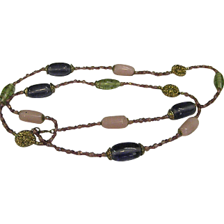 Lovely Glass Bead Necklace