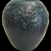 1927 Blue Rookwood Production Vase  #2589