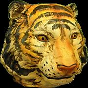 Vintage Ceramic Tiger Planter