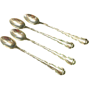 Gorham Sterling Strasbourg Iced Tea Spoons