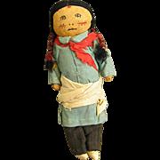 Wonderful Old Cloth Native American Doll