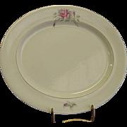 """Worcester Rose 17"""" Oval Platter by Royal Worcester"""