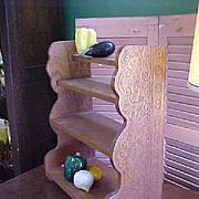 Homey Tramp Art Shelf