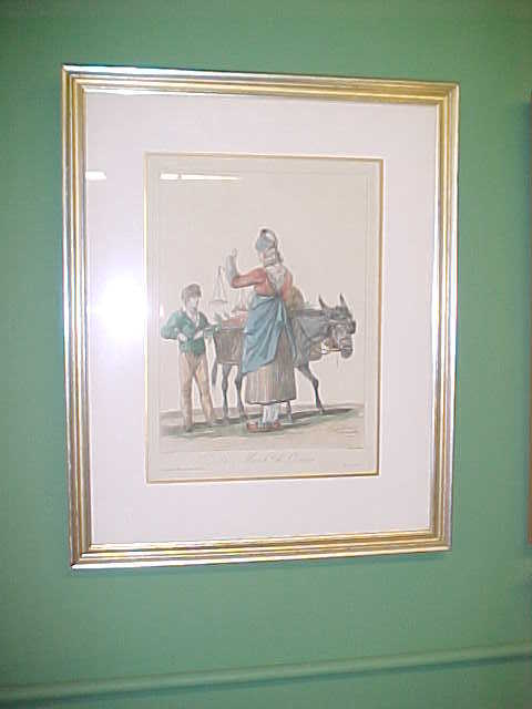 Aquatint Lithograph Of Carle Vernet Drawing Bluebonnet Hill Estates Antiques Ruby Lane