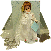Beautiful Madame Alexander Empire Bride Cissette