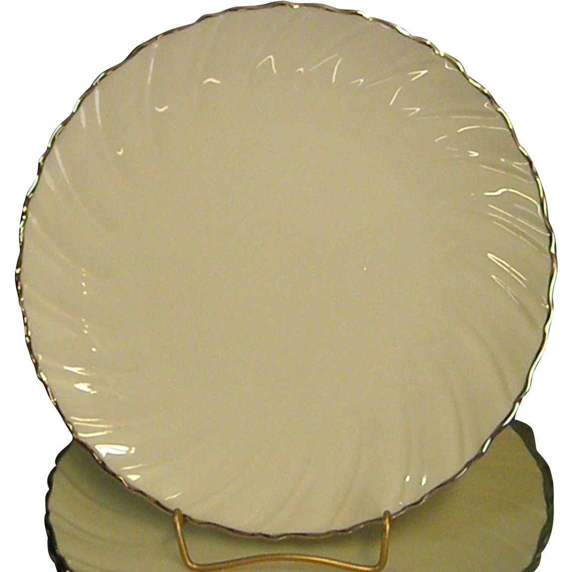 Classic Lenox China Weatherly Salad Plates From
