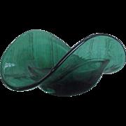Rare 1959 Blenko Glass Piece in Nile Green