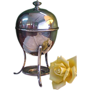 Silver plate Egg Coddler/Cruet by Maple & Co.