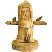 Wood Sculpture by Revered New Mexico Artist Ben Ortega