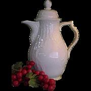 Vintage Rosenthal Sans Souci Coffee Pot in Ivory Color