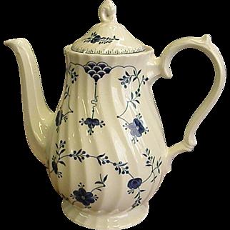 Graceful Churchill Finlandia Pattern Coffee Pot