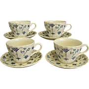 Graceful Churchhill Finlandia Pattern Cup and Saucer