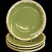 Hull Avocado Drip Bread Plates