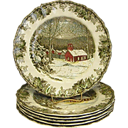 Johnson Brothers The Friendly Village Dinner Plates