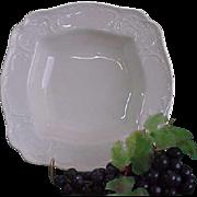 Vintage Rosenthal Sans Souci Ivory Color Square Vegetable Bowl
