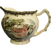 Johnson Brothers The Friendly Village Creamer The Old Mill