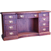 Solid Mahogany Lynnfield Doll House Duncan Phyfe Buffet