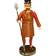 Vintage Wooden English Beefeater