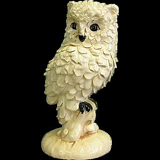 Fascinating Owl Ceramic Sculpture