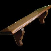 Handmade Pine Shelf