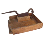 Folksy Homemade Tobacco Cutter
