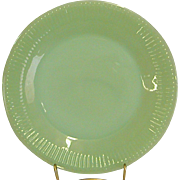 Anchor Hocking Fire King Jadeite Jane Ray Salad Plates