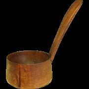 Vintage Treenware Ladle or Dipper
