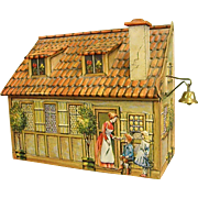 Charming German Gingerbread Cookie/Biscuit Tin