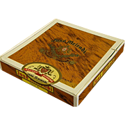 Interesting Vintage Jose Melendi Cigar Box J. B. Back & Co.