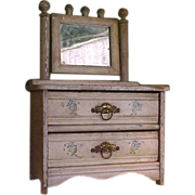 Old Fashioned Eastlake-Style Doll Dresser